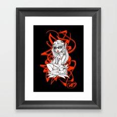 SERVICEWOMAN Framed Art Print