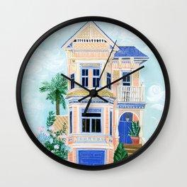 Little Victorian House Wall Clock