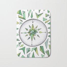 Internal Compass Bath Mat