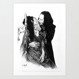 Bram Stoker dracula Art Print