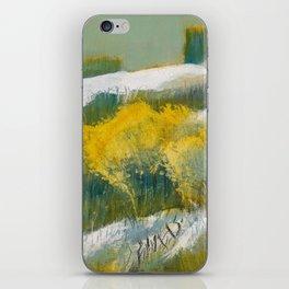 First Snow Landscape Painting / Dennis Weber / ShreddyStudio iPhone Skin
