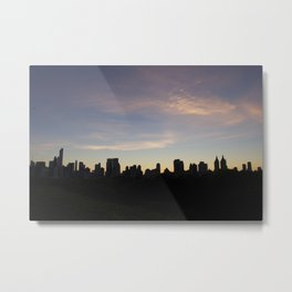 New York Skyline at Dusk  Metal Print
