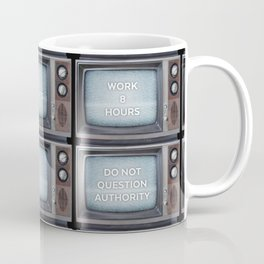 They Live TV Messages Coffee Mug