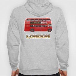Red Londn Bus Hoody