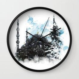 Sultanahmet Mosque  Wall Clock