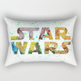 Abstract Wars Rectangular Pillow
