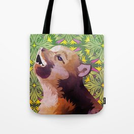Baby Insanity Wolf Tote Bag