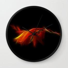 Monbretia Wall Clock