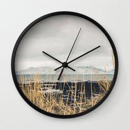 View on Esja Wall Clock