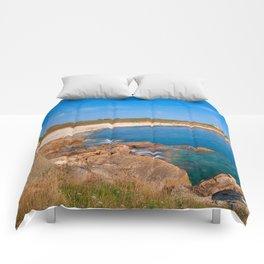 Guernsey Coastal Scenery Comforters