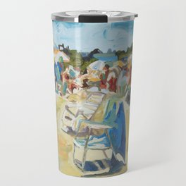 Beautiful Place by the Sea Travel Mug