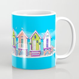 Island Beach Huts Coffee Mug