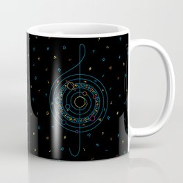 Life in Music Coffee Mug