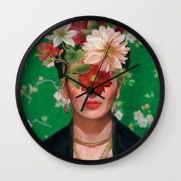 Frida Flow Wall Clock