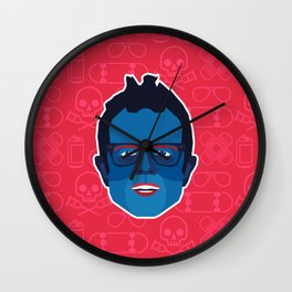 Johnny Knoxville - Jackass Wall Clock