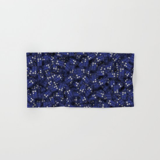 Tardis Hand & Bath Towel