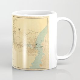 Map of the Proposed Panama Canal (1906) Coffee Mug