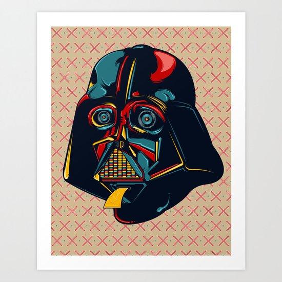 Colour Star Wars Art Print