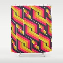 RETRO // Extrovert Shower Curtain