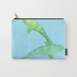 Lime Parrotfish Carry-All Pouch