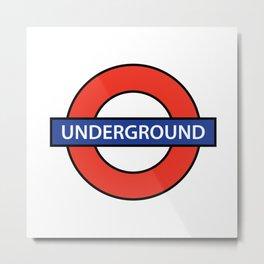 London Underground Metal Print