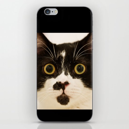 Pussy cat, pussy cat iPhone & iPod Skin