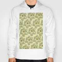 floral pattern Hoodies featuring Pattern floral by LoRo  Art & Pictures