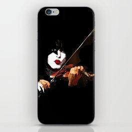 Paganini Devil Violinist 2 iPhone Skin