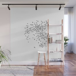 The dance of the bugs Wall Mural