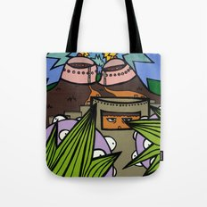 STEP BACK! THIS is OUR ELECTROMAGNETIC RECHARGING STATION! Tote Bag