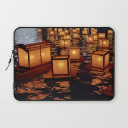 Japanese floating lantern Laptop Sleeve
