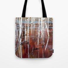 Automn Swamp Tote Bag