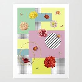 Conteporary blossom Art Print