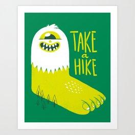 Advice Bigfoot Art Print