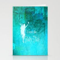 fairy tale Stationery Cards featuring Fairy Tale by Veronica Ventress