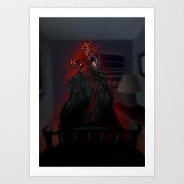 il Lupo Cattivo Art Print
