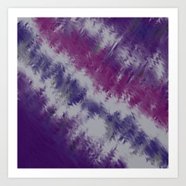 Fantastic purple Art Print