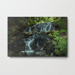 Flowing Creekbed Metal Print