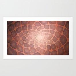 Purple Mandala Chakra Sacred Geometry Tapestry (Crown Chakra) Art Print
