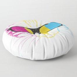 Pansexual Cat Floor Pillow