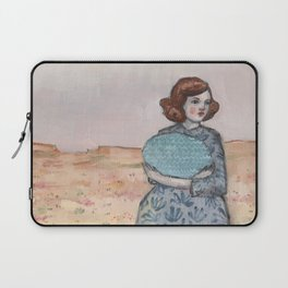 she held tight to her memory of the sea Laptop Sleeve