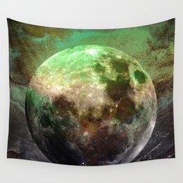 MOON under MAGIC SKY V-1 Wall Tapestry