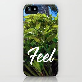 Hunting the Green Miami Botanical Feel iPhone Case