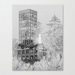 Firehall 1/2 Canvas Print