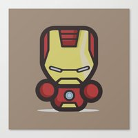 ironman Canvas Prints featuring Ironman by MaNia Creations