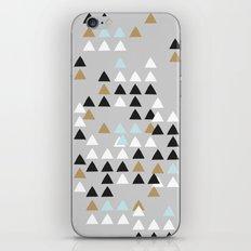 Scandinavian geometric pattern iPhone Skin
