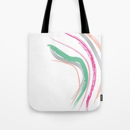 Coral Slide Tote Bag
