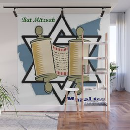 Bat Mitzvah Wall Mural