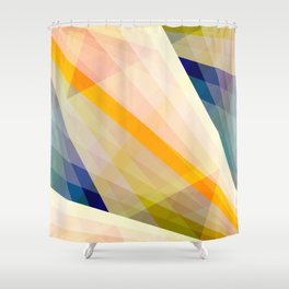 Abstract Geomtric Shape 04 Shower Curtain