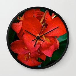 Love Blossoms Wall Clock